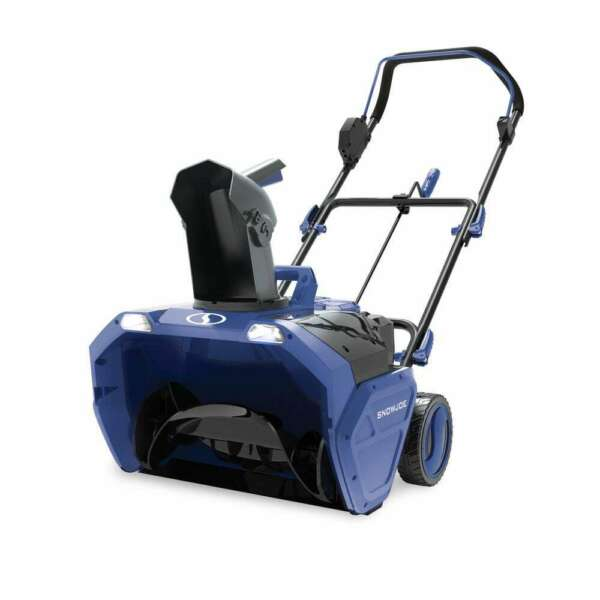 Snow Joe Snow Blower Single Stage Cordless Electric 21 Inch 48 Volt Tool Only
