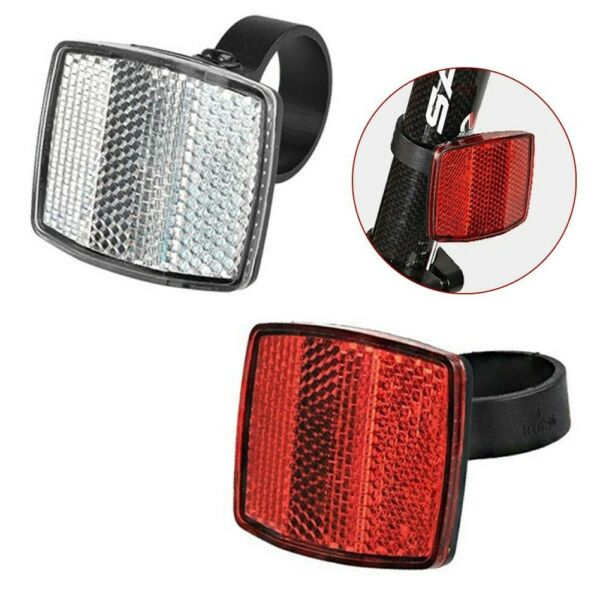 Bicycle Front And Rear Reflectors And Tail Lights Bicycle Accessories Stores C $12.48