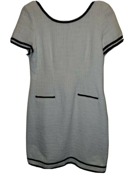 Karl Lagerfeld White And Black Dress Size 6 $26.00