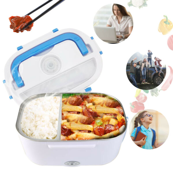 Portable Electronic Heating Lunch Box Food Warmer Travel Heater Container NEW $18.07