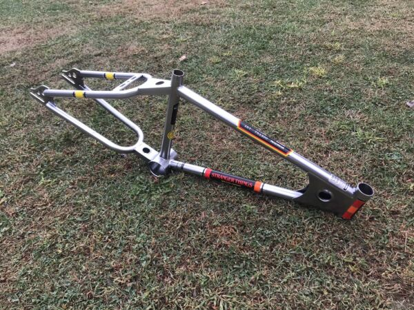 """Mongoose Stranger Things 20"""" Limited Edition Motomag Bmx Frame Old School Repro $325.00"""