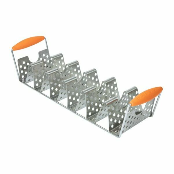 Blackstone Stainless Steel Taco Rack Holder with Handles FREE SHIPPING $15.89