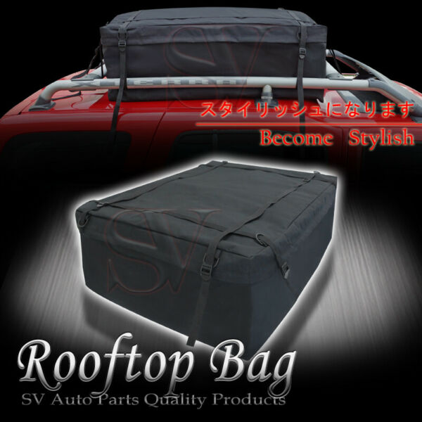 Waterproof Roof Top Cargo Bag Rooftop Storage Carrier Holder For Ford Pickup $39.50