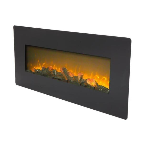 ZOKOP 1400W Wall Mount 42quot; Electric Fireplace Heat Heater Christmas Remote $191.88