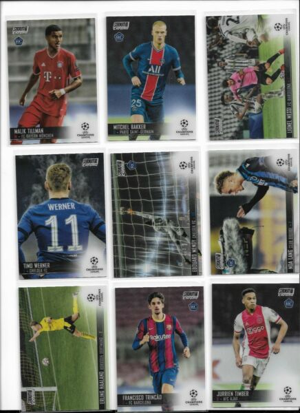 2020 21 Topps Stadium Club Chrome Soccer Base RC Pick Player Complete Your Set