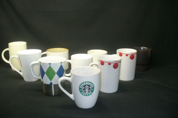 Lot of 10 Starbucks Mugs $6 Mug Great Deal amp; Cond Variety of Themes and Sizes