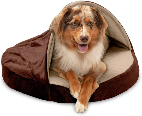 Furhaven Cozy Pet Beds for Small Medium and Large Dogs and Cats Snuggery Hoo $37.99