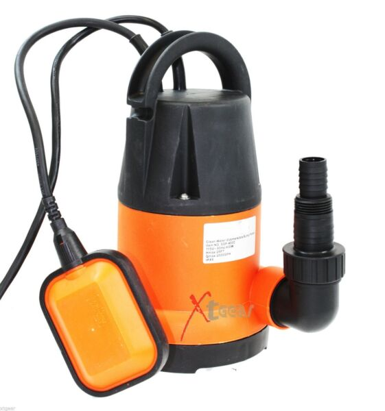 Auto Shut off 12 HP Submersible Water Pump Flooding Draining Pool Pond