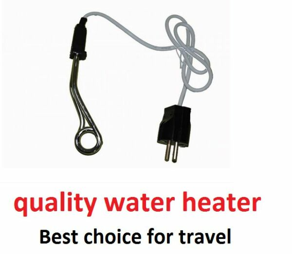 Water Coffee Tea Immersion Liquid Travel Portable Heater Element 500W