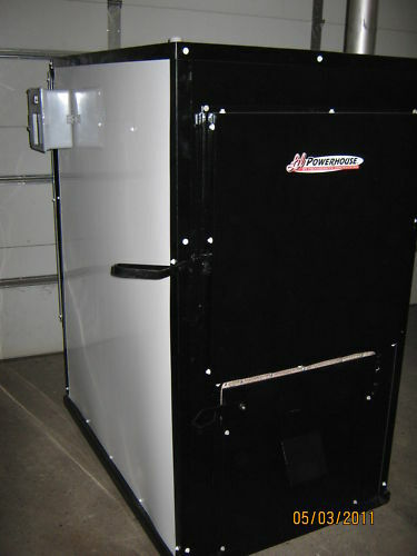 OUTDOOR WOOD FURNACE BOILER HEATER STOVE FREE HEAT $7995.00