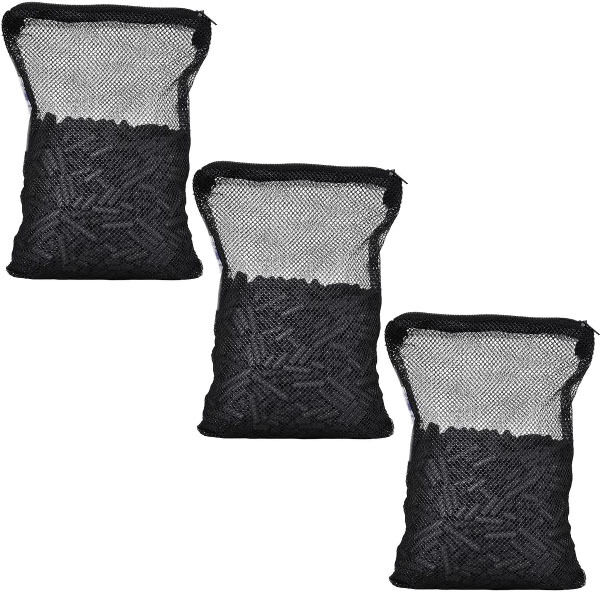 3 lbs Activated Carbon in 3 Media Bags for aquarium fish pond canister filter $10.99