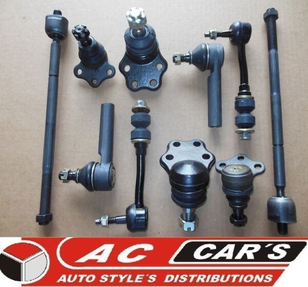 10 Aftermarket suspension steering kit tie rod stabilizer link replacement 2WD
