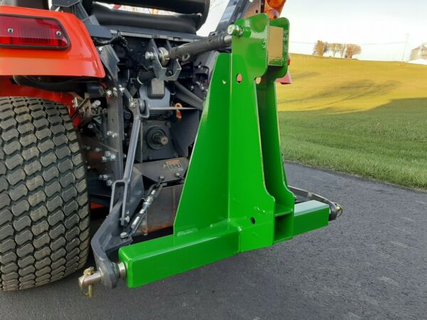 3 Point Receiver Hitch Green $74.99