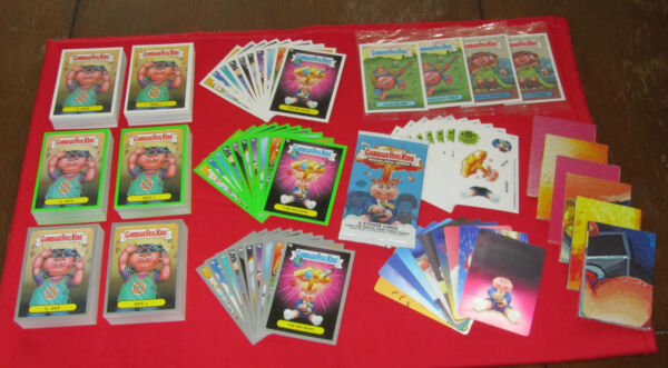 ALL NEW GARBAGE PAIL KIDS BNS1 ULTIMATE MASTER SET  SILVERS    RARE
