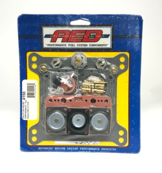 AED Holley 4150 Rebuild Kit Double Pumper Carbs 650 750 850 950 Complete $47.99