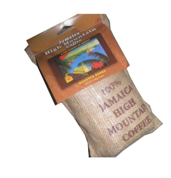 Coffee From Blue Mountain Jamaica High Mountain Coffee Roasted Grounded Bean12oz