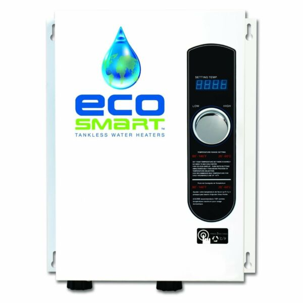 Ecosmart ECO 18 Best Electric Tankless On Demand Hot Water Heater 240V ECO18