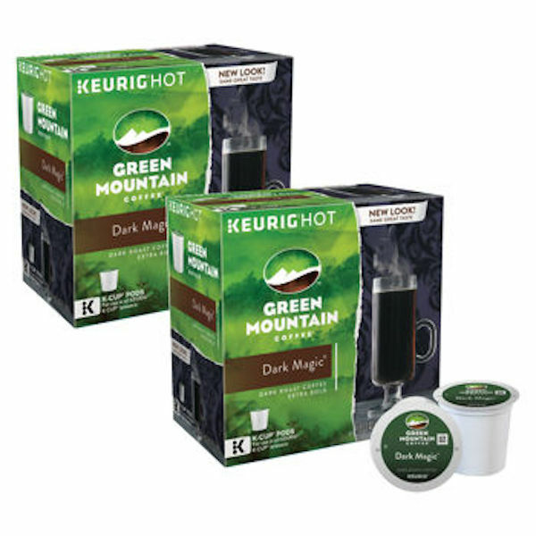Green Mountain Coffee Dark Magic Dark Roast Keurig K-Cups 180-Count