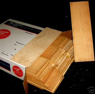 30 pcs. 1 4quot; x 4quot; x 12quot; cherry thin boards hobby craft wood $45.95