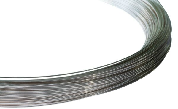 Sterling Silver Filled Round Wire 110 (Half Hard) 0.5mm to 1.6mm -  Wire Craft