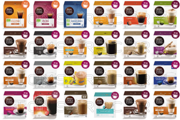 NESCAFE Dolce Gusto Cups Coffee Pods Variety