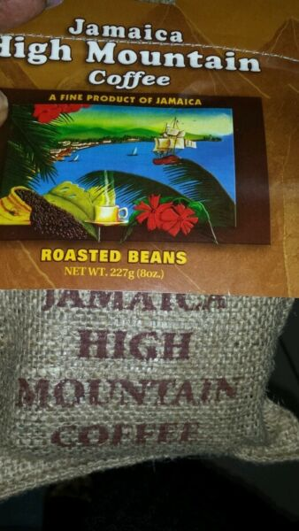 Coffee From Blue Mountain Jamaica High Mountain Coffee Roasted Whole Bean 8oz
