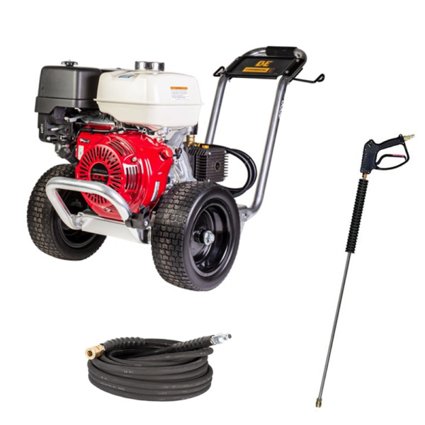 BE Professional 4000 PSI Gas Cold Water Pressure Washer w Honda GX390 En... $1489.99
