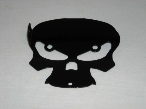 BQuazy Skull Motorcycle Bell Mount in Black for 2009 to 2013 Touring Models $35.00
