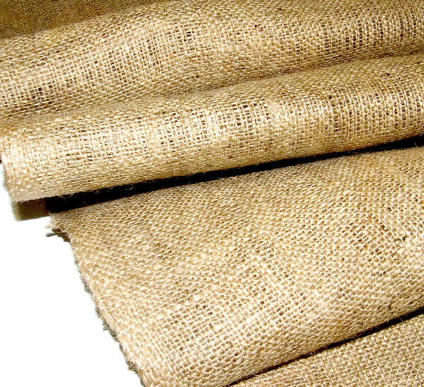 Burlap Material 10oz. Natural Color Untreated Sold By The Yard 36quot; x 40quot;