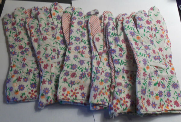 Ladies Garden Gloves 6 pairs