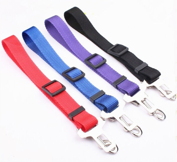 Pet Dog Car Seat belt Strap Collar and Harness Attachable $6.99