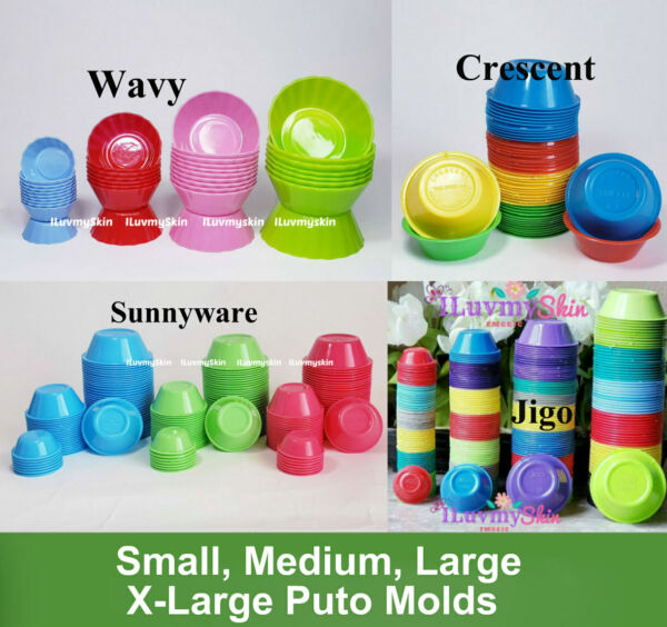 Puto, Kutsinta, Pichi Pichi Plastic Cup Mold.....Different sizes and prices!