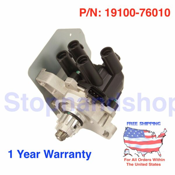New Ignition Distributor w Cap & Rotor for 91 92 93 94 95 Toyota Previa 2.4L