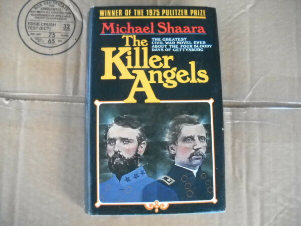 The Killer Angels First British Edition Hardback Inscribed by Michael Shaara