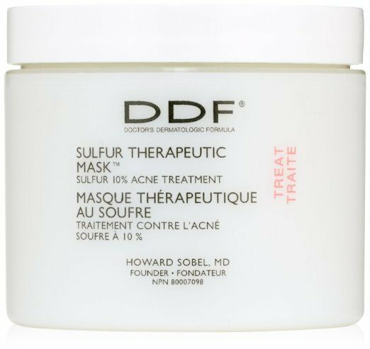 New sealed DDF Sulfur Therapeutic Mask Acne Treatment 4 Oz FAST FREE SHIPPING $7.79