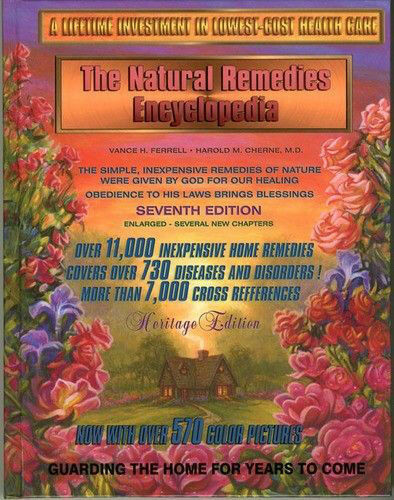 Natural Home Remedies Encyclopedia Book Healing 7th Edition Vance H. Ferrell $65.95