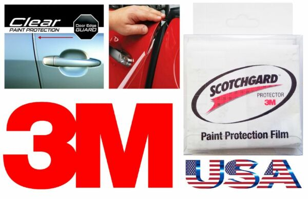 3M 4 Door Edge Scratch Clear Guard Trim Protector Film Scotchgard Car Truck Van
