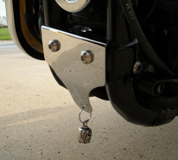 BQuazy Motorcycle Bell Mount in Chrome for 1986 to 2021 Sportster models $19.00