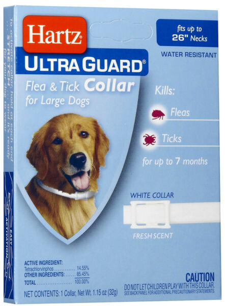 Hartz UltraGuard Flea amp; Tick Collar for Large Dogs Water Resistant $7.25