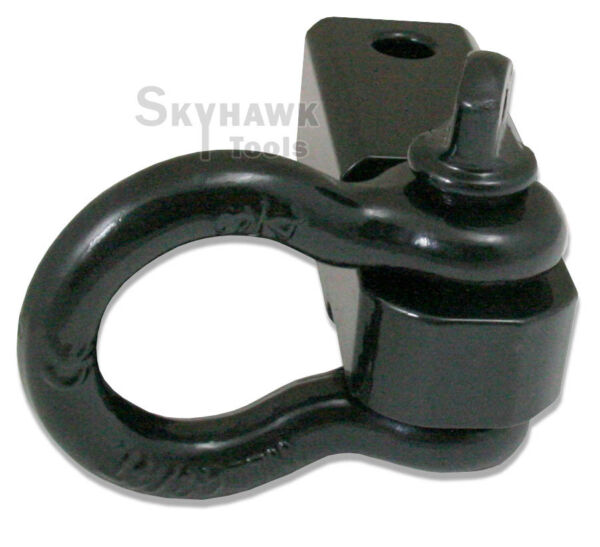 Solid Shank SHACKLE D Ring Receiver Hitch Capacity: 10000 Lbs $25.89