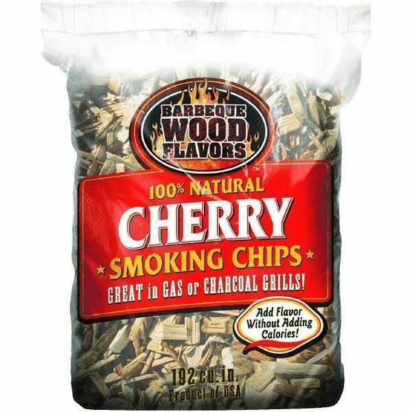 Barbeque SMOKER Wood Flavors Wood Chips CHERRY WOOD CHIPS