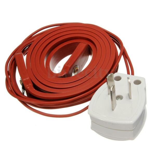 80W 1M Rubber Heating Belt Heater Brewing for Wine Beer Spirit Fermentation Pail