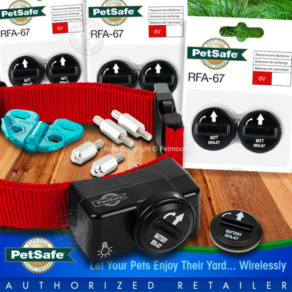 PetSafe Wireless Dog Fence Receiver PIF 275 19 Extra Collar for PIF 300 $150.80