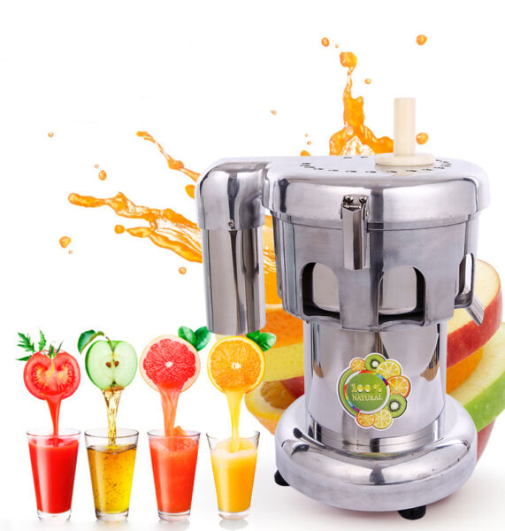 Stainless Fruit and Vegetable Juicer Extractor Commercial Juicer 110V Brand New
