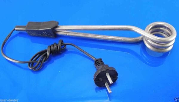 TRAVEL HEATER ELEMENT WATER COFFEE BOILER HOT WATER IMMERSION 1000w NEW