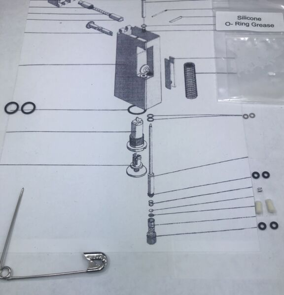 Service Repair KIT for 2 Vintage dunhill Rollagas lighters 1 #31 Spring $14.95