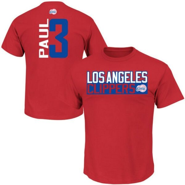 Los Angeles Clippers NBA Boys Discount Chris Paul #3 Player Shirt Youth Sizes