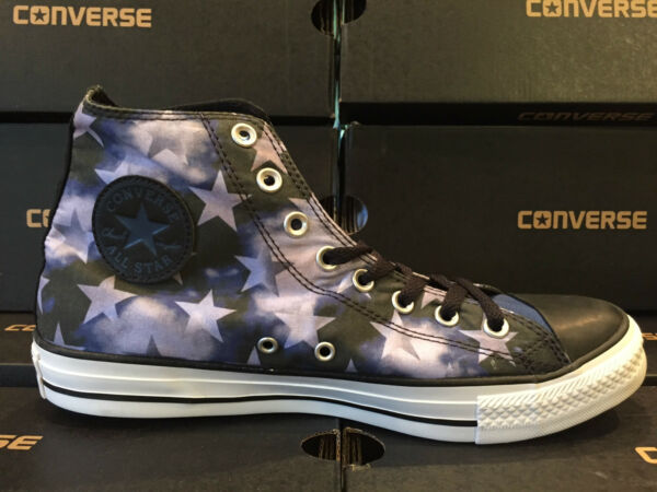 NEW Converse All-Star Hi STARS USA AMERICAN FLAG 149295F Men's Shoes Blue Unisex
