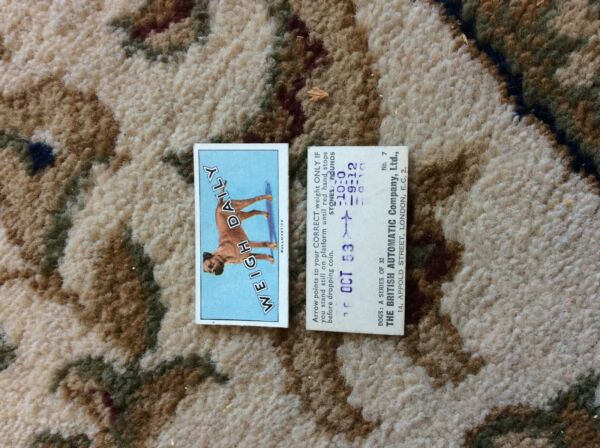 BRITISH AUTOMATIC DOGS 1ST SERIES WITH WEIGH DAILY # 07 bullmastiff GBP 1.75