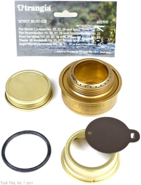 Genuine Trangia Spirit Burner Ultralight Alcohol Stove for Camping Backpacking